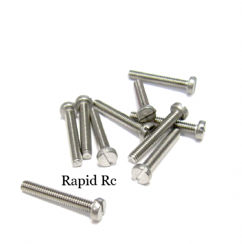 M2 x 16mm Stainless Steel Phillips Head Machine Screw